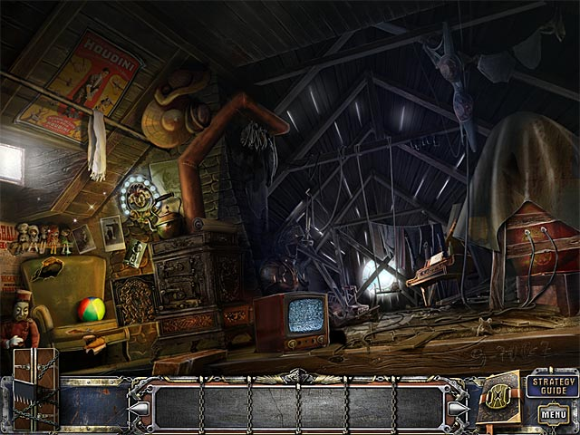 Game screenshot 2 The Great Unknown: Houdini's Castle Collector's Edition