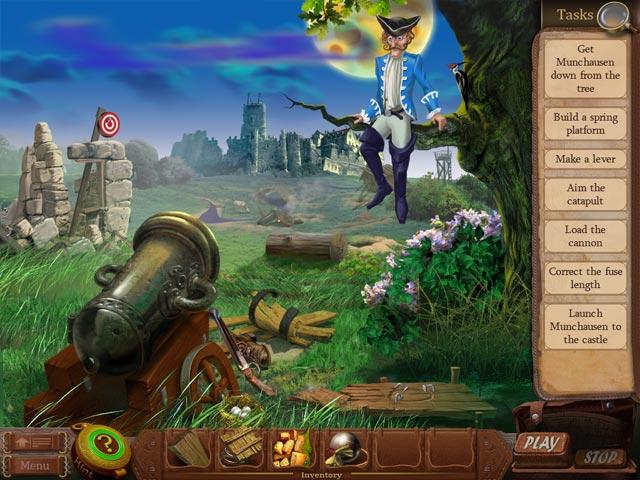 Game screenshot 2 The Surprising Adventures of Munchausen