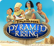 The Timebuilders: Pyramid Rising casual game