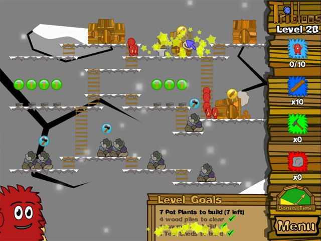 Game screenshot 2 The Tribloos