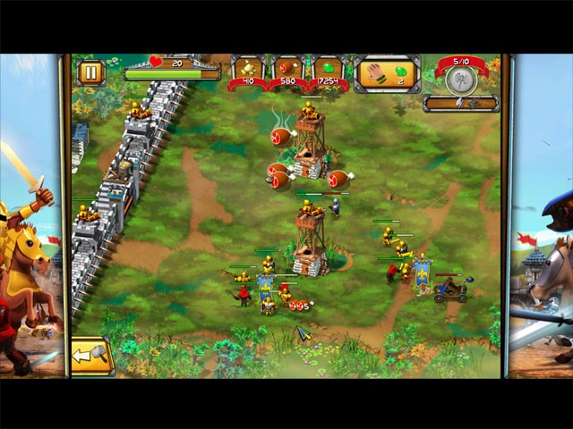 Game screenshot 1 The Wall: Medieval Heroes