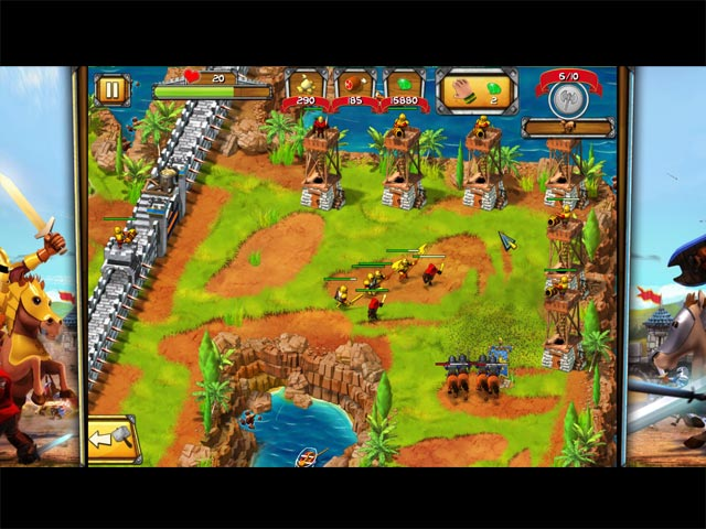 Game screenshot 3 The Wall: Medieval Heroes