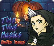 Feature screenshot game Time Twins Mosaics Haunted Images
