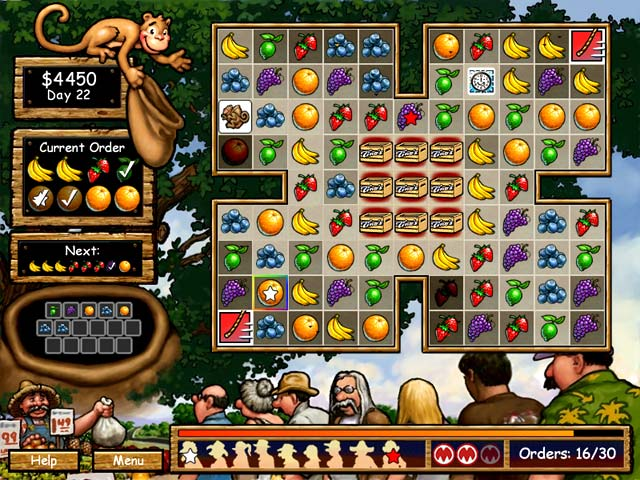Game screenshot 1 Tino's Fruit Stand