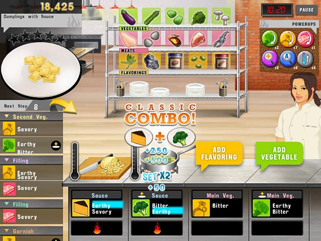Top chef ipad iphone android mac pc game big fish for Big fish cooking games