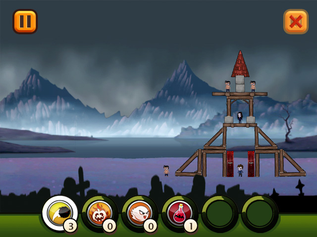 Toppling towers halloween ipad iphone android mac for Big fish games android