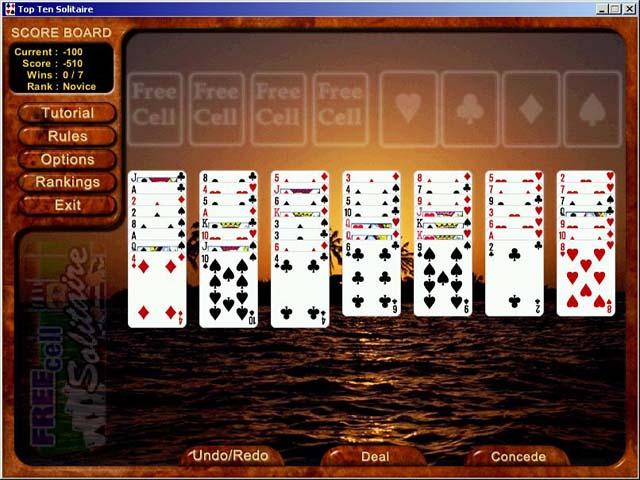 Game screenshot 3 Top Ten Solitaire