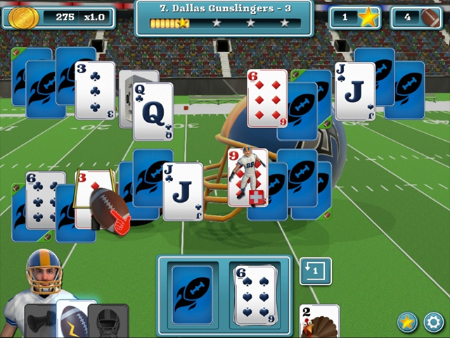 Touch Down Football Solitaire img