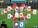 2. Touch Down Football Solitaire game screenshot