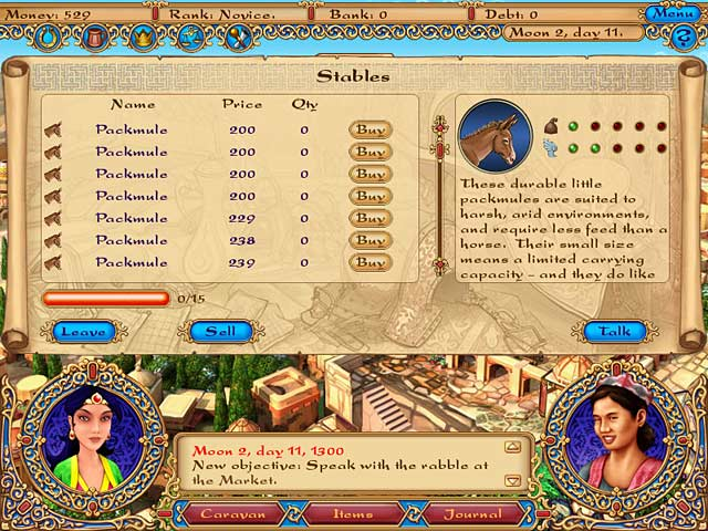 Game screenshot 2 Tradewinds Caravans