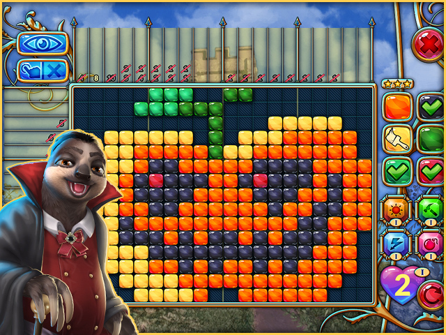 Game screenshot 1 Travel Mosaics 10: Spooky Halloween
