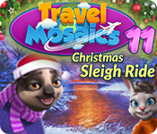 Feature screenshot game Travel Mosaics 11: Christmas Sleigh Ride
