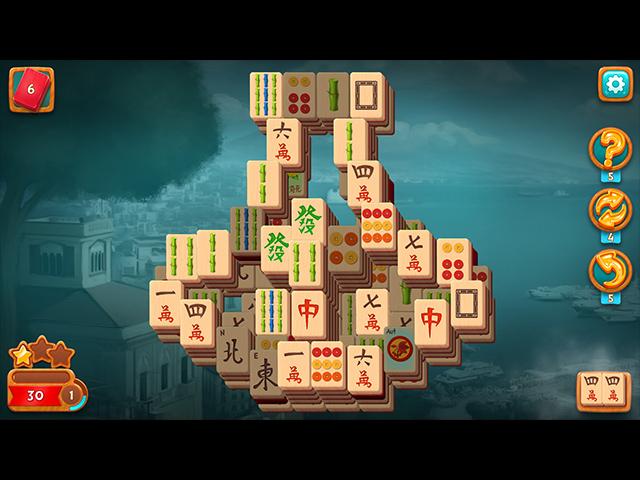 Game screenshot 1 Travel Riddles: Mahjong
