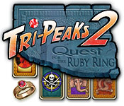 free download Tri-Peaks 2: Quest for the Ruby Ring game