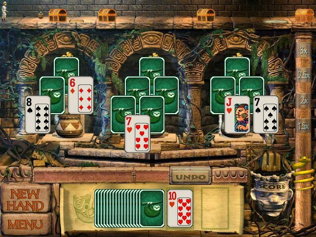 Game screenshot 1 Tri-Peaks Solitaire To Go