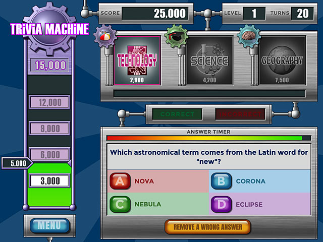Video for Trivia Machine Reloaded