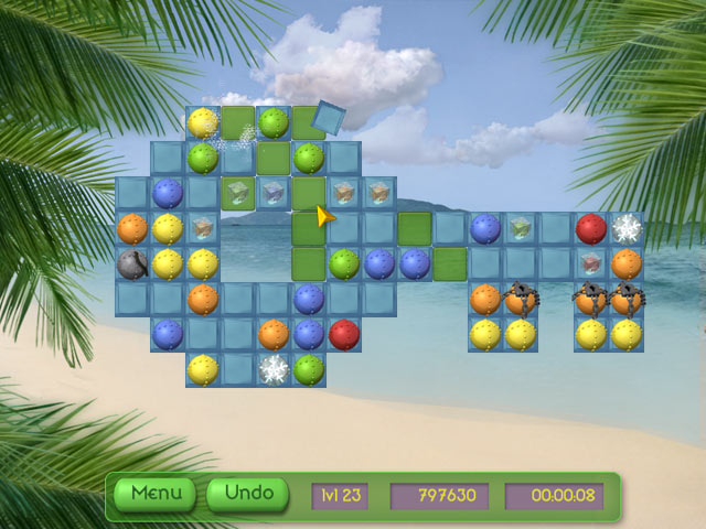 Game screenshot 1 Tropical Puzzle