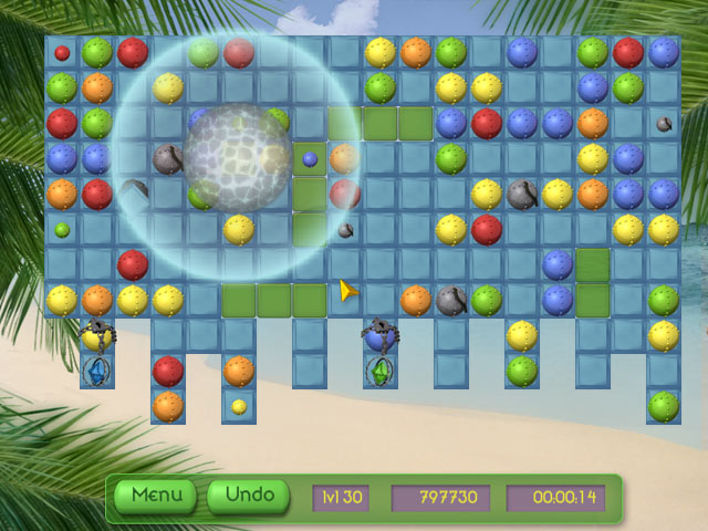 Game screenshot 2 Tropical Puzzle