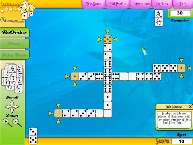 Game screenshot 1 Ultimate Dominoes