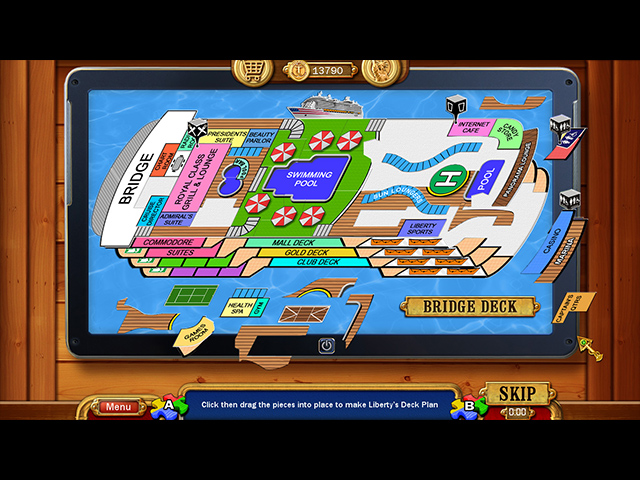 Game screenshot 2 Vacation Adventures: Cruise Director 6 Collector's Edition