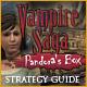 Vampire Saga: Pandora's Box Strategy Guide