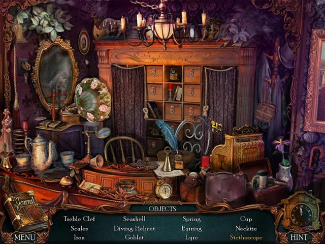Game screenshot 1 Victorian Mysteries: The Yellow Room