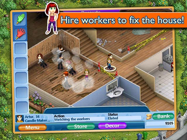 Virtual families 2 our dream house ipad iphone android mac pc game big fish Create a house game