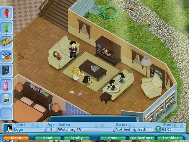 Virtual families ipad iphone android mac pc game for Virtual families 2 decoration