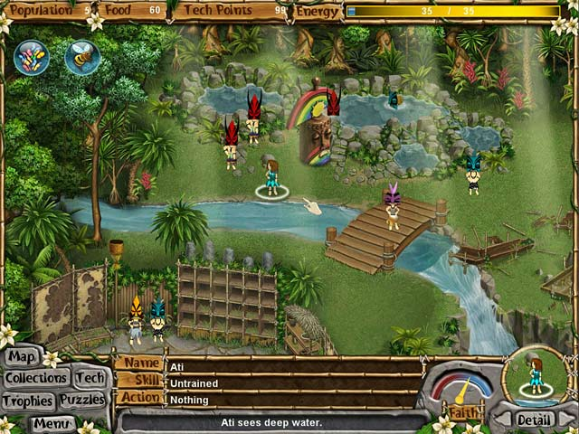 Game screenshot 1 Virtual Villagers: New Believers