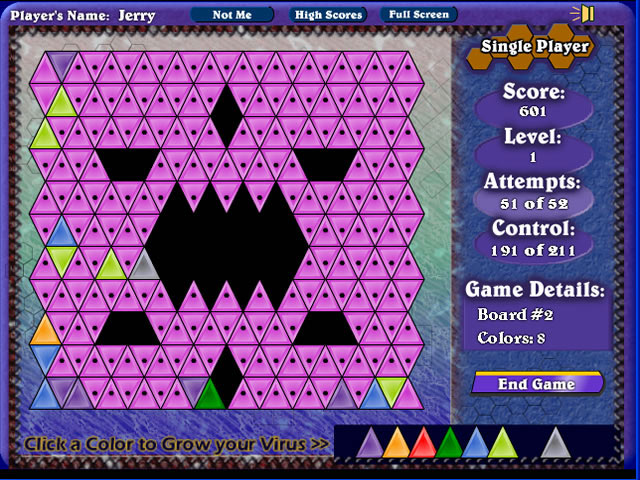 Game screenshot 2 Virus 3