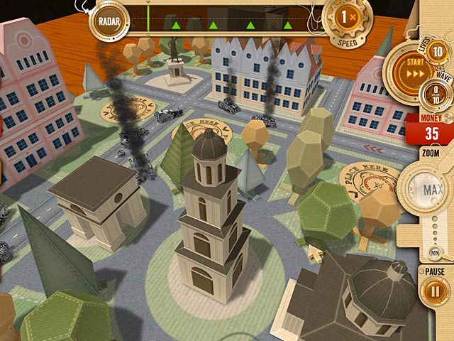 Game screenshot 2 War in a Box: Paper Tanks