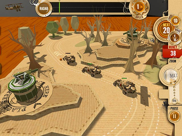 Game screenshot 3 War in a Box: Paper Tanks