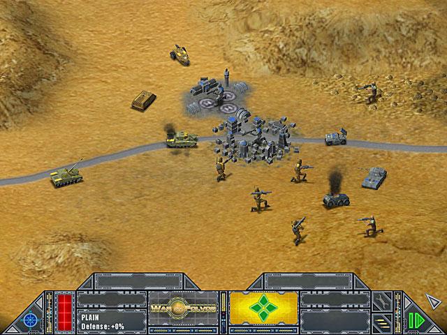 Game screenshot 1 War on Folvos
