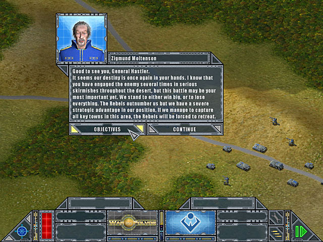 Game screenshot 2 War on Folvos