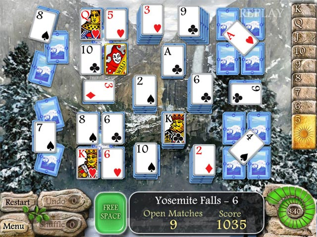 Game screenshot 1 Waterscape Solitaire: American Falls