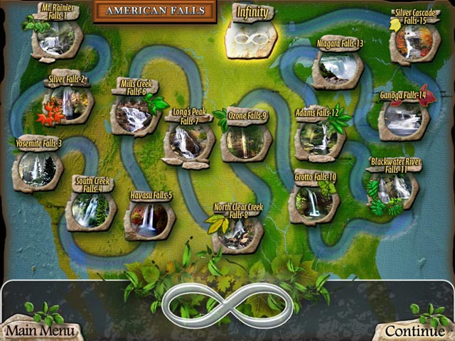 Game screenshot 2 Waterscape Solitaire: American Falls