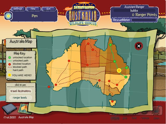 Game screenshot 2 Wild Thornberrys Australian Wildlife Rescue