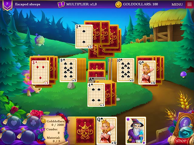 Wizard's Quest Solitaire img