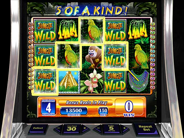 Game screenshot 1 WMS Jungle Wild Slot Machine
