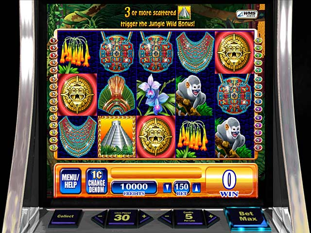 Game screenshot 2 WMS Jungle Wild Slot Machine