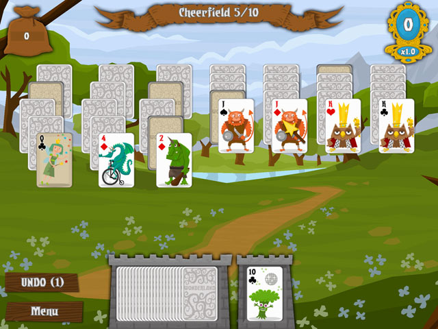 Game screenshot 1 Wonderland Solitaire