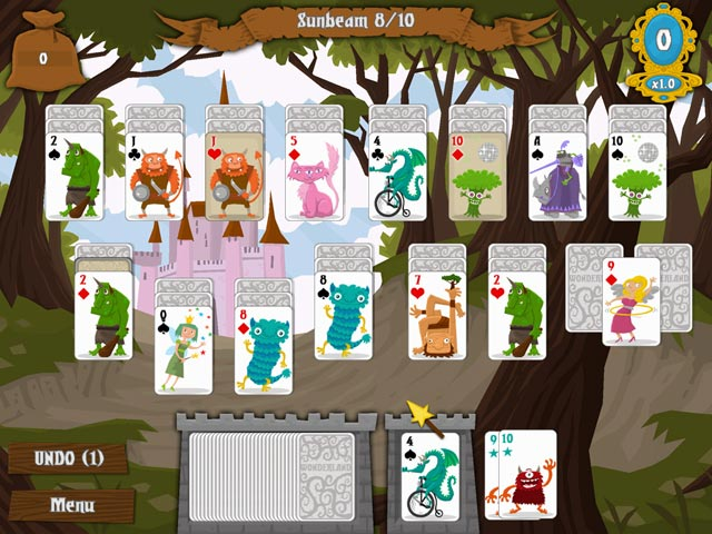 Game screenshot 2 Wonderland Solitaire