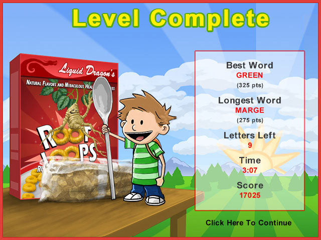 Game screenshot 3 Word Krispies