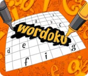 Feature screenshot game Wordoku