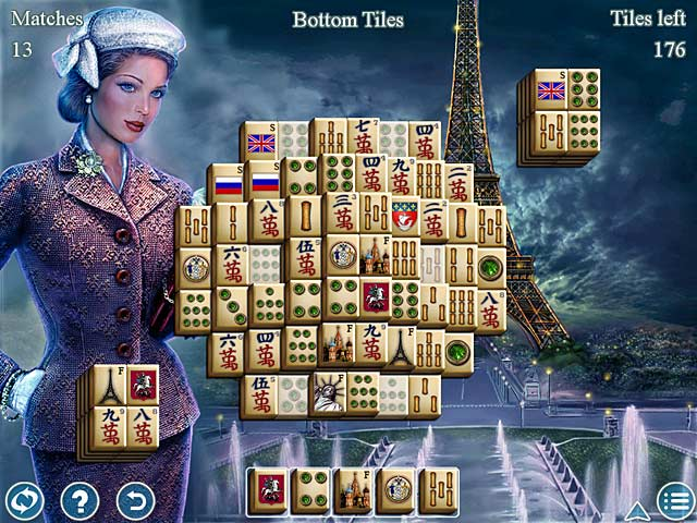 World's Greatest Cities Mahjong Screen 1