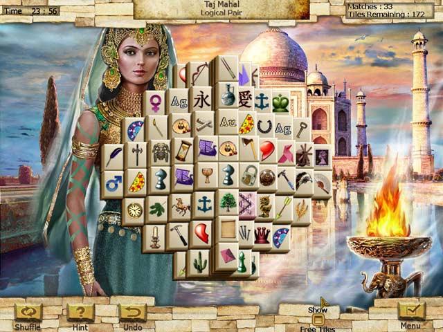Game screenshot 3 World's Greatest Places Mahjong