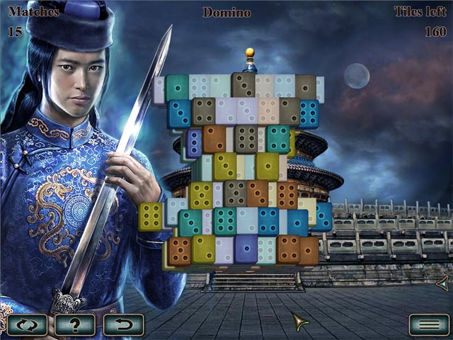 World's Greatest Temples Mahjong screenshot 1