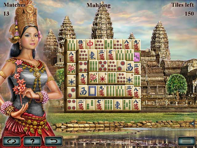World's Greatest Temples Mahjong screenshot 3