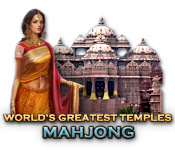 World's Greatest Temples Mahjong casual game