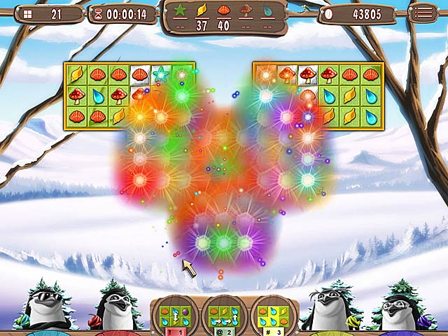 Game screenshot 2 Yeti Quest: Crazy Penguins